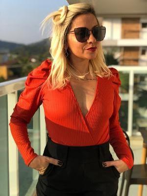 A empresária criou nova marca de bodies, a Mamacita, e tem mais de 45 mil seguidores no Instagram - Arquivo Pessoal