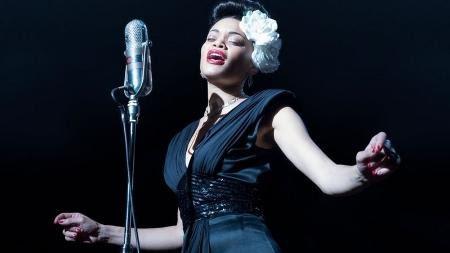 """Andra Day em """"Estados Unidos Vs Billie Holiday"""" - Divulgação"""