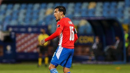 Gustavo Gómez na Copa América 2021 - Heber Gomes/AGIF