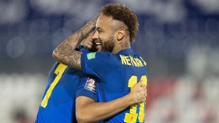 Neymar - Lucas Figueiredo/CBF