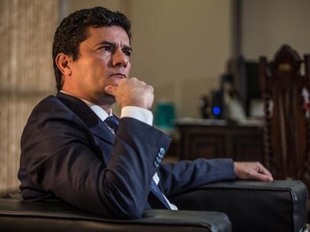 Sergio Moro concede entrevista em Brasília em março de 2020 - Andre Coelho/Getty Images