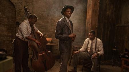 Chadwick Boseman em 'A Voz Suprema do Blues' - David Lee/Netflix