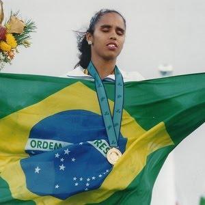 Ádria Santos: maior medalhista paralímpica do Brasil - Reprodução